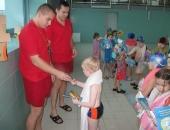 Nauka pływania z Nivea i WOPR